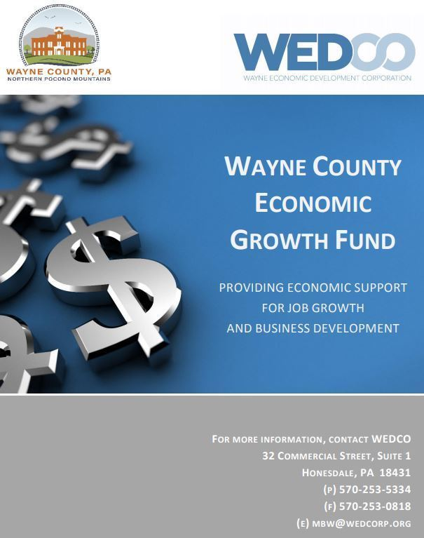 Wayne County Economic Growth Fund Flyer (PDF)